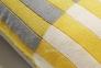 Декоративная подушка Aqua из трикотажа 45x45 см, желтый 0