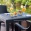 Обеденный стол King из пластика (имитация плетения) 79х79 см 2