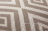 Подушка декоративная трикотажная Einni 40x40 см, бежевый 0