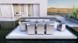 Стол обеденный раздвижной Toledo из алюминия, белый 1