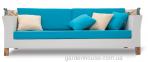 Двухместный диван Vanessa из искусственного ротанга с навесом 2