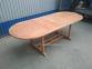Раскладной садовый стол Butterfly из тика, 160/240 см 3
