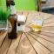 Овальный раскладной стол Finlay из массива акации 153/195x90xH72 см 1