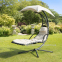 Подвесное кресло-шезлонг Dream с зонтиком 0