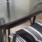 Садовая мебель Quatro: стол со стеклом, 4 стула с подушками и зонт от солнца 0