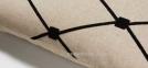 Прямоугольная декоративная подушка Melrose с вышивкой 30x50 см в ассортименте 1