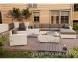 Угловой модуль мебельной системы Milano Royal из искусственного ротанга 2