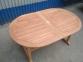 Раскладной садовый стол Butterfly из тика, 160/240 см 2