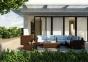 Угловой модуль садового комплекта мебели Milano из искусственного ротанга 0