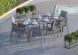 Большой обеденный стол Oviedo Stone & Wood 220 см 3