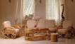 Комплект мебели из натурального ротанга для отдыха 0