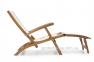 Кресло-шезлонг Lugano из тика 1