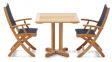 Стол обеденный Quadro из тикового дерева 4
