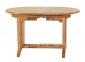 Раскладной садовый стол Butterfly из тика, 160/240 см 0