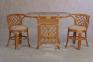 Ротанговый комплект мебели для завтрака 2