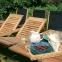 Обеденный комплект мебели Future из массива акации и текстилена 2
