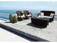 Набор садовой мебели Firienze из искусственного ротанга, коричневый 0