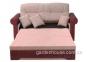 Плетеный раскладной диван из натурального ротанга 0