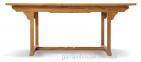 Стол обеденный раскладной Deli из тика 120/180*120 см 1