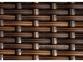 Приставной столик Romeo из искусственного ротанга, коричневый 1