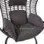 Подвесное кресло Bora из искусственного ротанга, коричневый 2