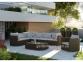 Садовый диван Venezia Royal из искусственного ротанга, центральный модуль 1