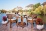 Комплект мебели для террасы: столик и два кресла из натурального ротанга  0