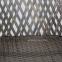 Двухместный набор складной мебели Turku из искусственного ротанга, серо-бежевый 2