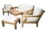 Комплект тиковой мебели для отдыха с трехместным диваном Cruise 0