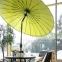 Солнцезащитный зонт Shanghai Ø 213 см (бежевый, салатовый) 0