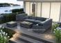 Угловой модуль мебельной системы Milano Royal из искусственного ротанга 0