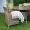 Кресло садовое Wicker из искусственного ротанга в ассортименте 4
