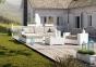 Лежанка из искусственного ротанга, крайний правый модуль мебельной системы Milano Royal  1