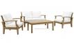 Набор мебели с двухместным диваном Selbi из тика 2