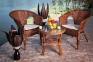 Набор ротанговой мебели для террасы 0