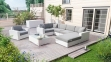 Лежанка, крайний правый модуль мебельной системы Milano Royal из техноротанга 2