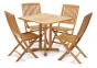 Стол обеденный Quadro из тикового дерева 5