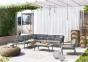 Модульный набор садовой мебели Lugo Stone & Wood c элементами из тика 7