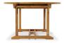 Обеденный стол Andria из тика Ø 110 см, круглый 0