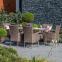 Садовый стол Paloma из техноротанга (коричнево-серый), 150 см 2
