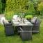 Кресло садовое Wicker из искусственного ротанга в ассортименте 5