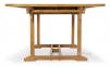 Складной садовый стол Бергамо из тика 180/240*120 см 3