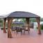 Шатер Sunset с металлической крышей 3х4х2,7 м, коричневый 0