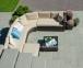 Угловой диванный набор Dawson из искусственного ротанга 1