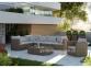 Садовый диван Venezia Royal из искусственного ротанга, центральный модуль 3