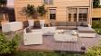 Лежанка, крайний правый модуль мебельной системы Milano Royal из техноротанга 3