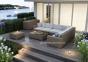 Угловой модуль мебельной системы Milano Royal из искусственного ротанга 1