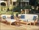 Комплект тиковой мебели для отдыха с трехместным диваном Cruise 1