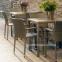 Садовый стул Larache из искусственного ротанга, серо-бежевый 0