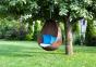 Кресло подвесное Kokon Modern из искусственного ротанга, коричневый 1